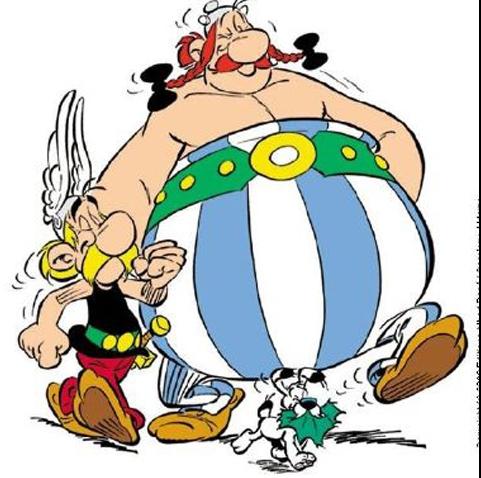 Asterix şi Obelix au părăsit Franţa, în contextul creşterii taxelor pentru bogaţi Foto: http://www.understandfrance.org/Images/AsterixObelix.jpg