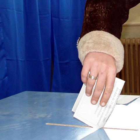 Foto: Sectii votare