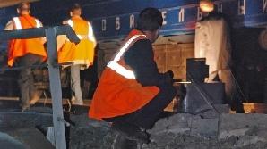 Un tren a deraiat în Rusia
