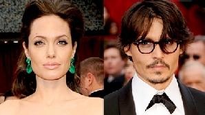 Angelina Jolie şi Johnny Depp, un cuplu doar în film