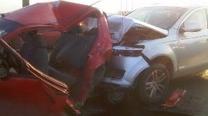 Accident teribil la ieşirea din Timişoara