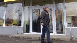 Jaf la un bancomat din Timişoara