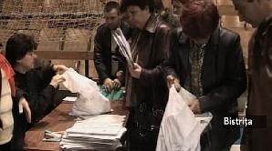 Predarea buletinelor de vot