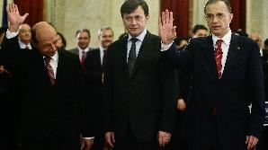 Traian Băsescu, Mircea Geoană şi Crin Antonescu