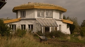 Casele din Dyssekilde au renunțat la garduri despărțitoare