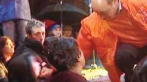 Traian Băsescu la Ploieşti, 2004