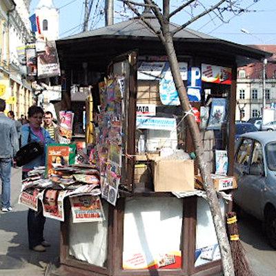 Foto: http://upload.wikimedia.org/wikipedia/commons/3/39/Chiosc_ziare_Cluj-Napoca.jpg