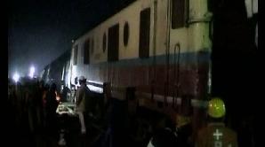 tren deraiat India