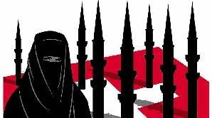 Afişele dreptei din Elveţia cer interzicerea minaretelor.