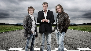 Clarkson, James May şi Richard Hammond