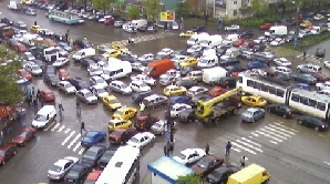 Trafic in Capitală