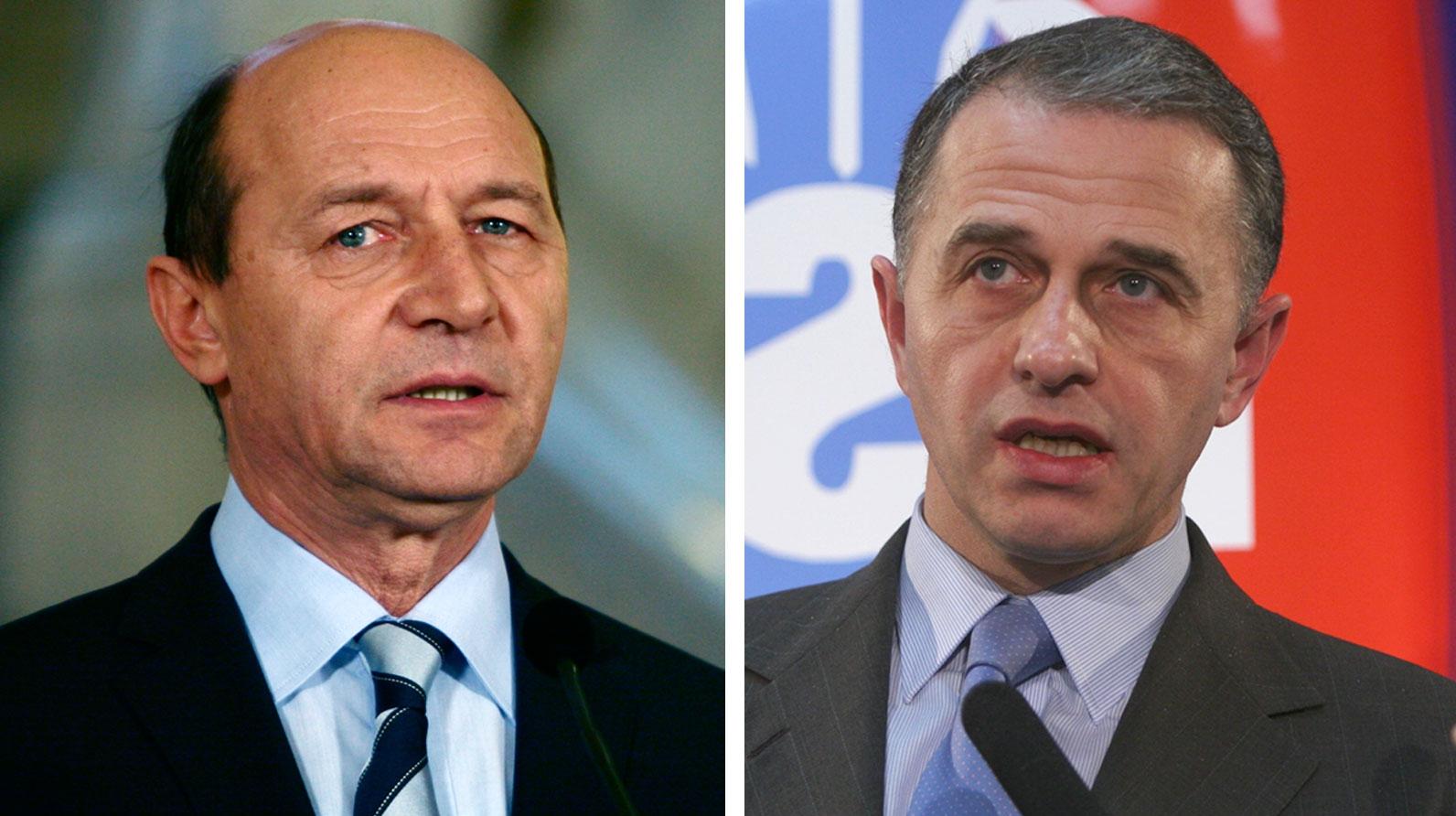 Traian Băsescu şi Mircea Geoană se pregătesc din nou de duel