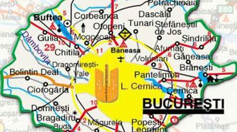 Harta Bucureşti