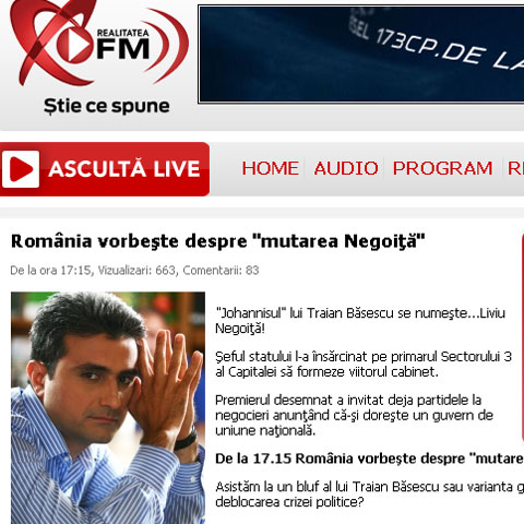 foto: Realitatea FM