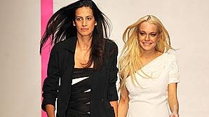 Lindsay Lohan-debut în modă
