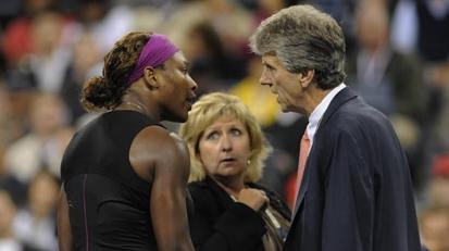 Serena a şocat asistenţa în timpul meciului cu Clijsters