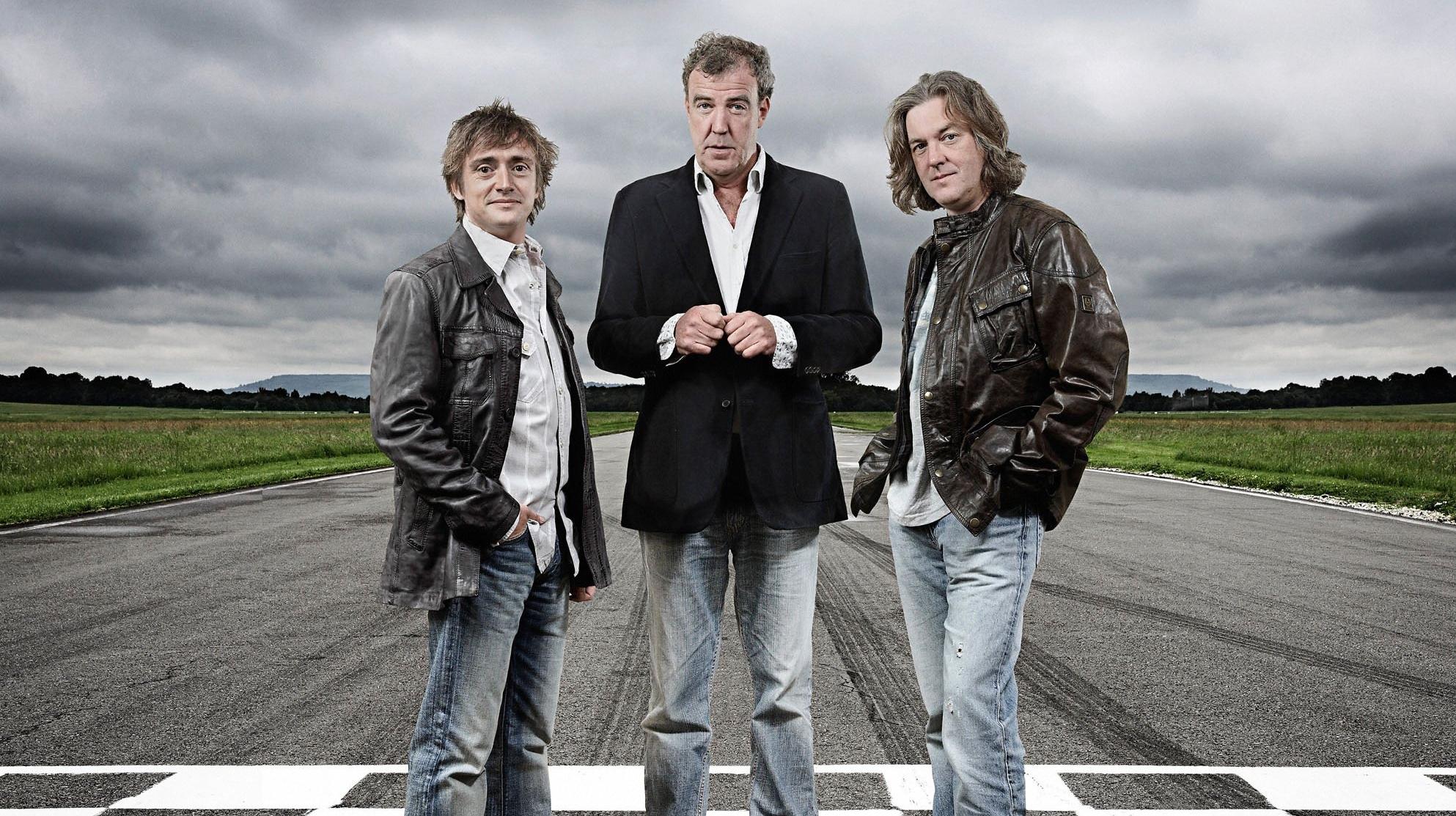 Clarkson, James May şi Richard Hammond