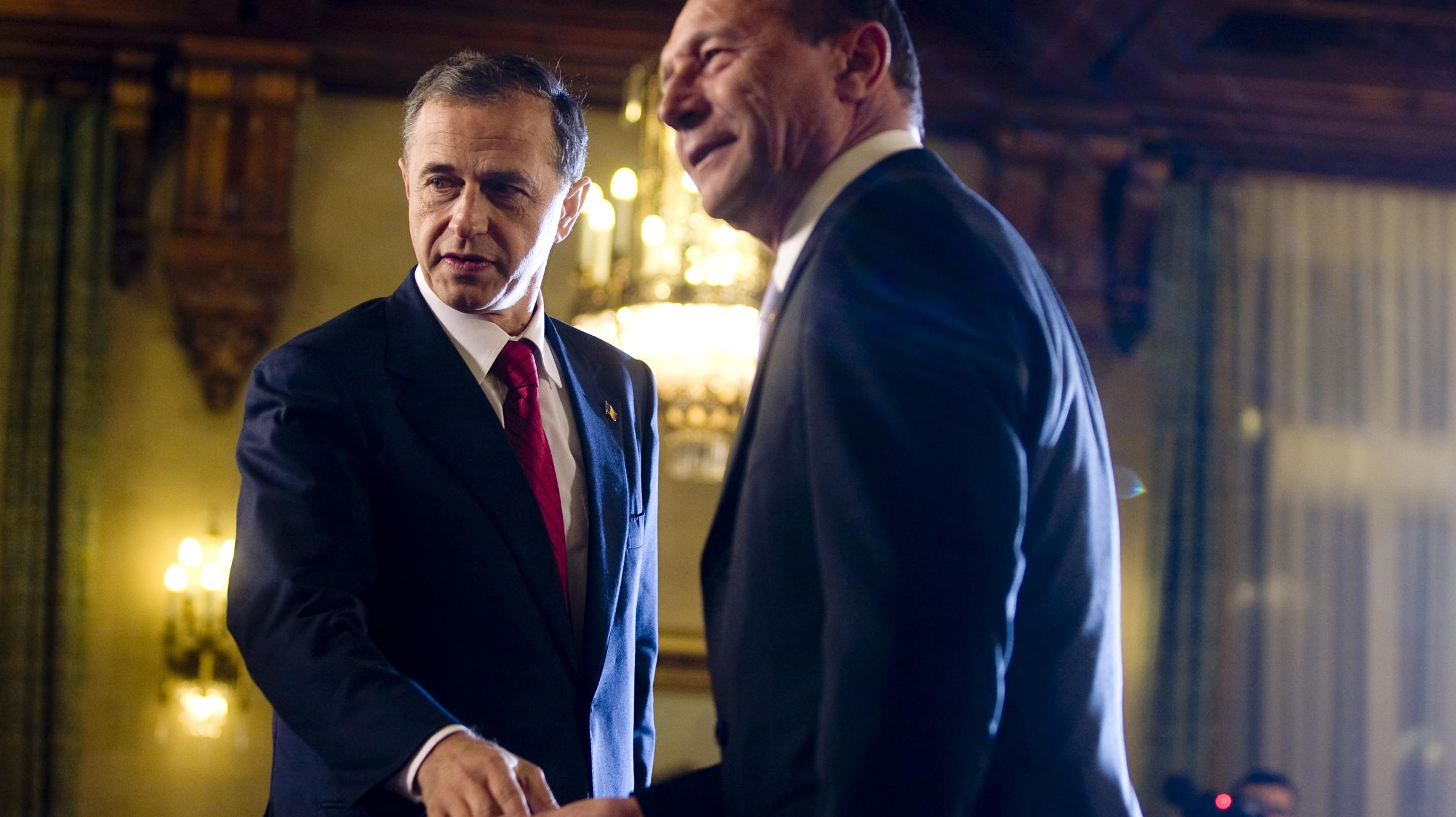 Traian Băsescu - Mircea Geoană