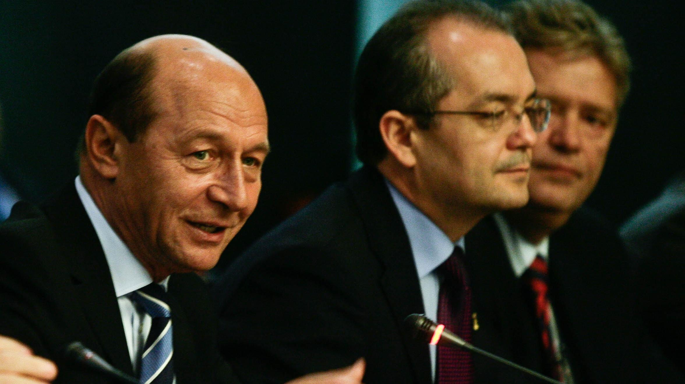 Traian Băsescu şi Emil Boc