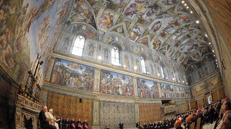 Artiştii sunt bineveniţi la Vatican