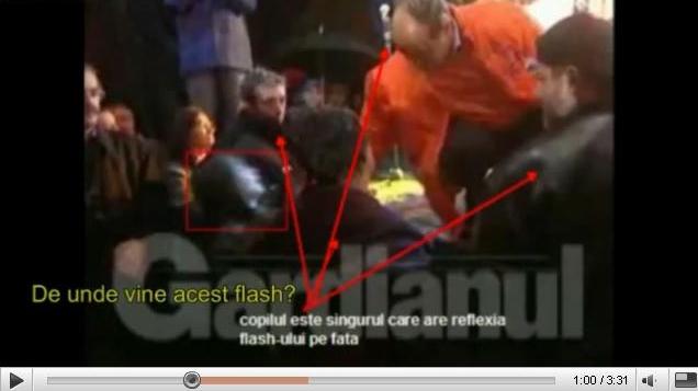 Mai multe filmuleţe de pe YouTube fac analize amănunţite a incidentului de la Ploieşti