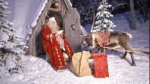 Moş Crăciun, acasă în Laponia