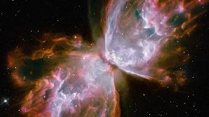 Nebuloasa Fluture fotografiată de pe Telescopul Hubble.