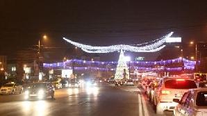 Luminile din centrul Capitalei/Foto: Adevarul.ro