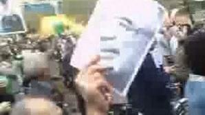 Martorii povestesc că forţele de ordine au tras în manifestanţi