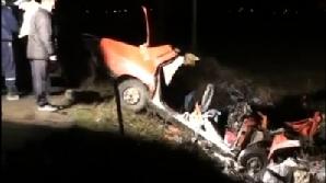 Şoferul care a cauzat accidentul a murit pe loc