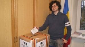 Primul alegător din Vilnius