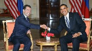Barack Obama Dmitri Medvedev