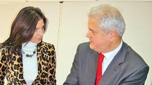 Anca Alexandrescu şi Adrian Năstase