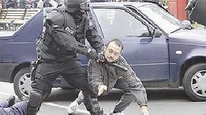 Cei doi agresori au fost prinşi de oamenii legii