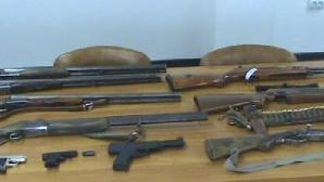 Armele de la Ciorogârla au fost furate în urmă cu aproximativ un an / FOTO: analogtv.ro