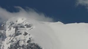 Pericol de avalanşe în Munţii Făgăraş, în zona Bâlea