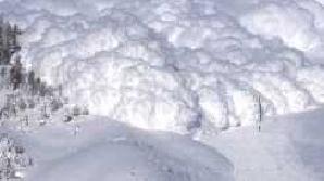 Pericol de avalanşe în Munţii Făgăraş
