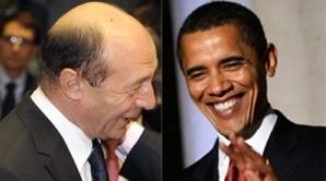 Traian Băsescu Barack Obama/Foto: 3210.ro