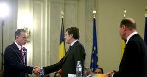 Băsescu vrea să discute cu Geoană şi Antonescu despre viitorul guvern