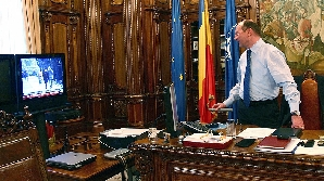 Traian Băsescu a recunoscut întâlnirea cu Vîntu din 2004