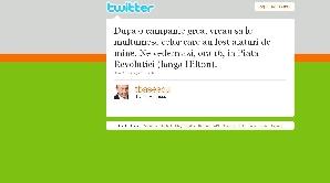 Băsescu face mobilizare electorală inclusiv pe Twitter