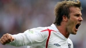 Primul turneu final Mondial al lui Beckham a fost Franţa 1998