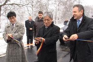 Berceanu a inaugurat drumul Timişoara - Lugoj