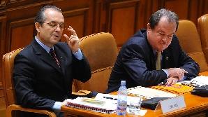 Emil Boc şi guvernul său dau din nou testul Parlamentului