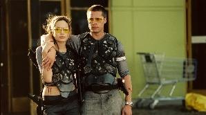 Angelina Jolie si Brad Pitt în