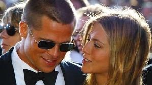 Brad Pitt şi Jennifer Aniston, pe vremea când erau căsătoriţi