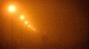 Ceaţa îngreunează traficul rutier în Tulcea