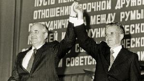 Ceauşescu îi dădea sfaturi lui Gorbaciov / FOTO: qmagazine.ro