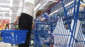 La cumpărături