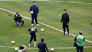 Un puşti de la o grupă de copii a echipei Bunyodkor l-a impresionat pe Ronaldo